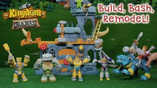 Kingdom Builders | Build, Bash, Remodel! | Official Action Figure Play Video