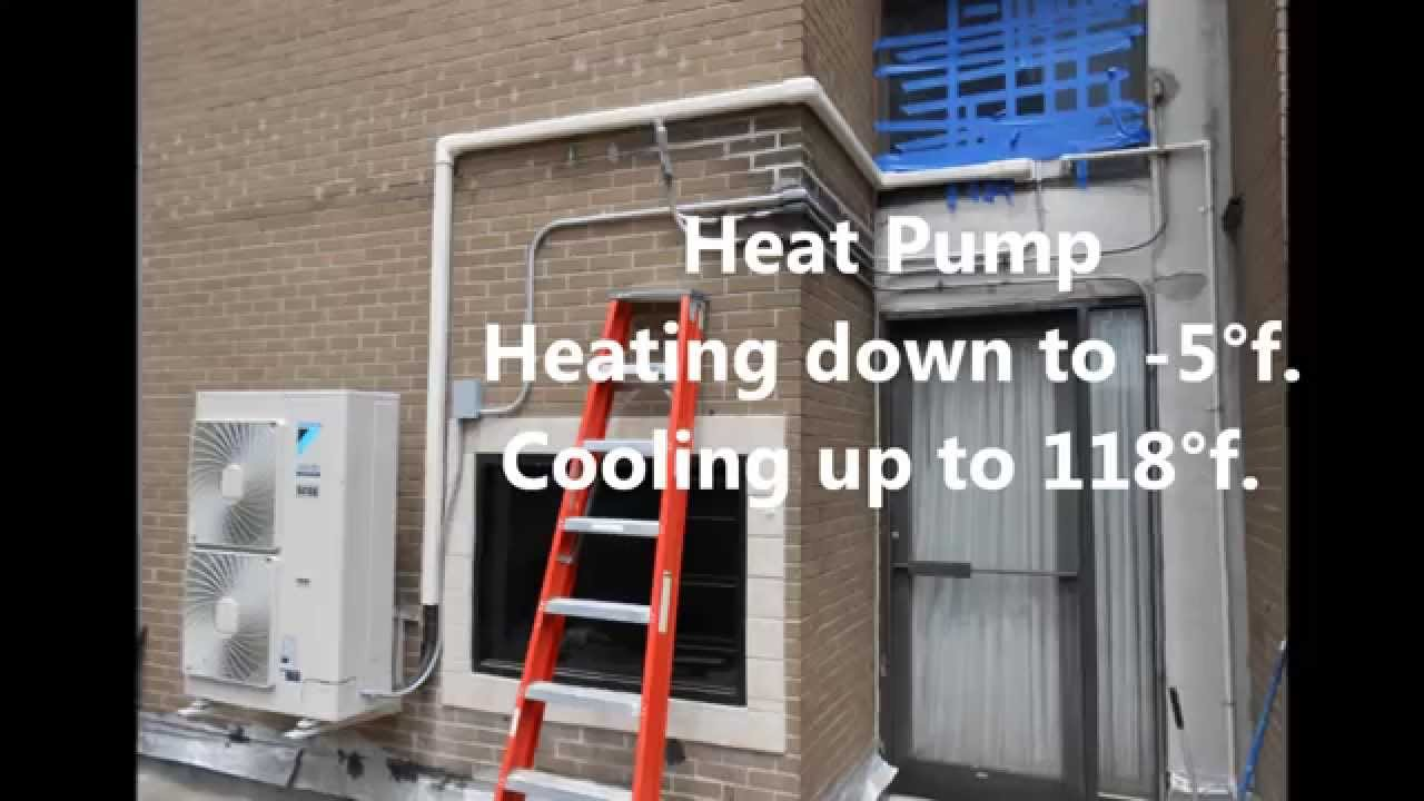 NYC - Daikin VRV III-S with two FXFQPVJU 360° round flow ceiling  cassette wmv by PACIFICHVACCOOLING