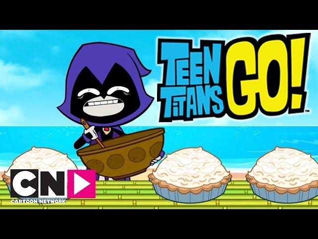 Teen Titans GO!   Kokoskremkake   Norsk Cartoon Network