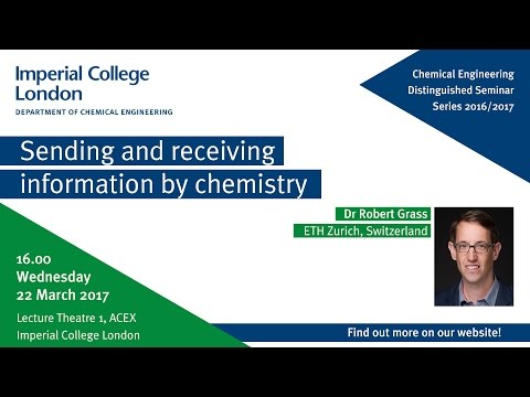 Sending and receiving information by chemistry