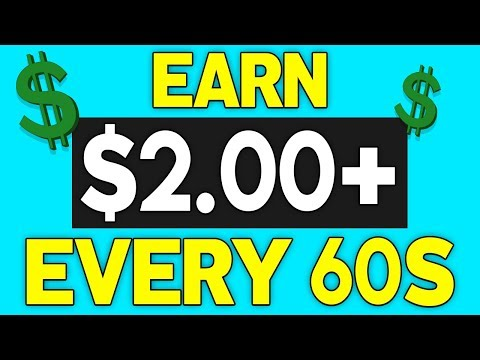 Earn $2 Per Min Right NOW! (EASY PayPal Money)
