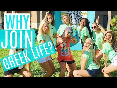 WHAT'S THE POINT OF JOINING A SORORITY? | UCF