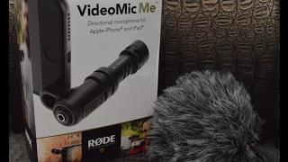 Rode VideoMic Me лучший микрофон? распаковка и тест в полевых условиях