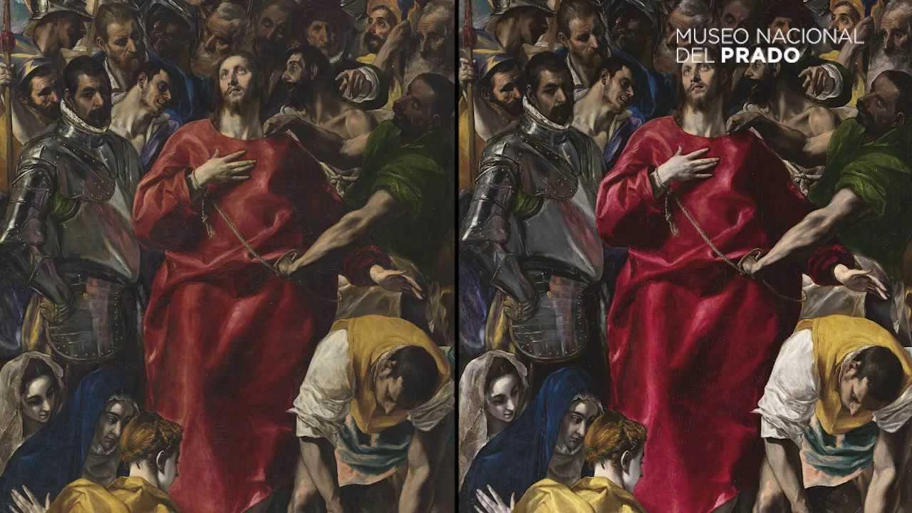 """La restauración de """"El Expolio de Cristo"""", de El Greco - YouTube"""