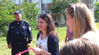 Открытие детской площадки в Новых Аненах (м-рн