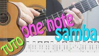 TUTO - ONE NOTE BOSSA - FingerStyle Guitar