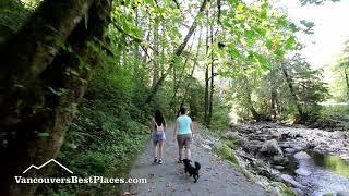 Kanaka Creek Cliff Falls, Vancouver