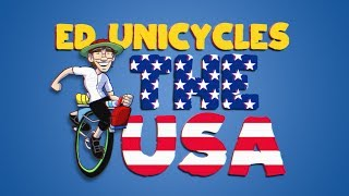 Ed Unicycles the USA (4000 miles across America) - Coming Soon!