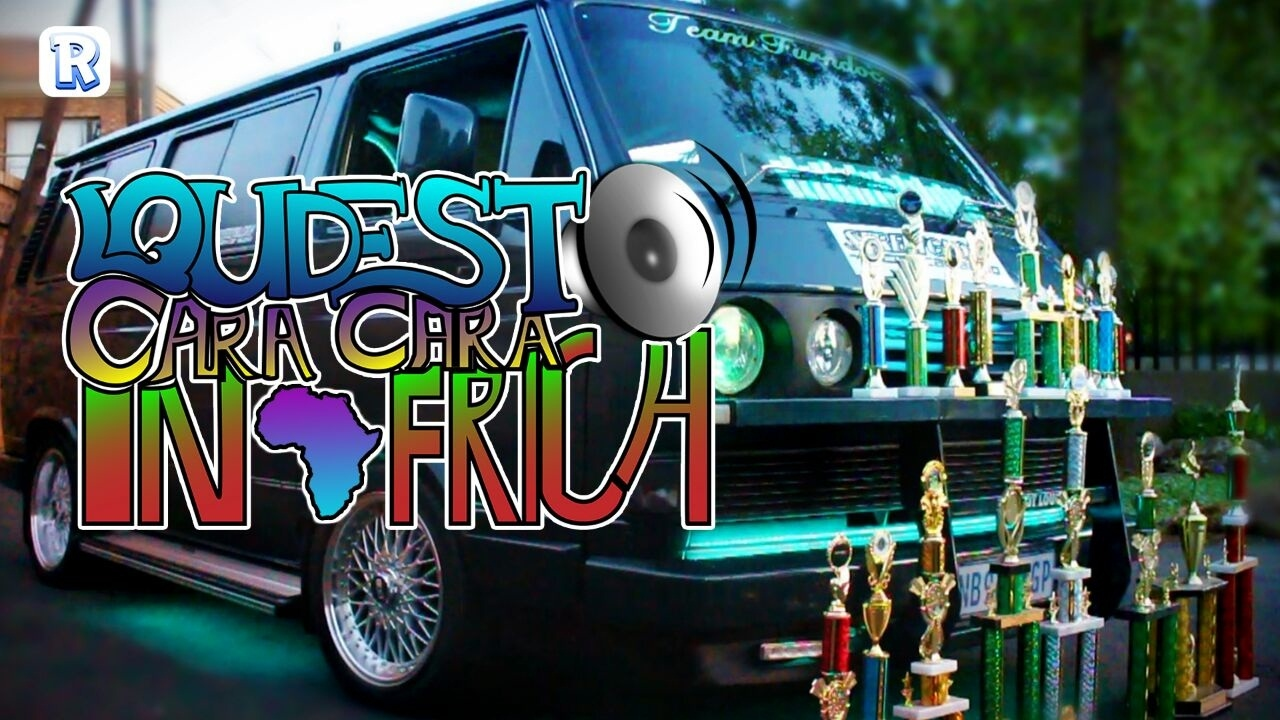 Loudest Microbus in Africa - YouTube