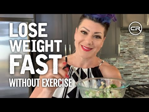 How To Lose Weight FAST Without Exercise (Avoid Weight Loss Plateau)
