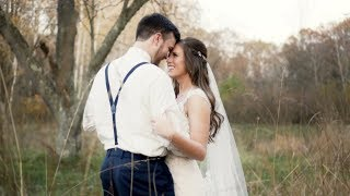 """God was up to something special..."" // Groom Cries reading emotional letter from his bride"