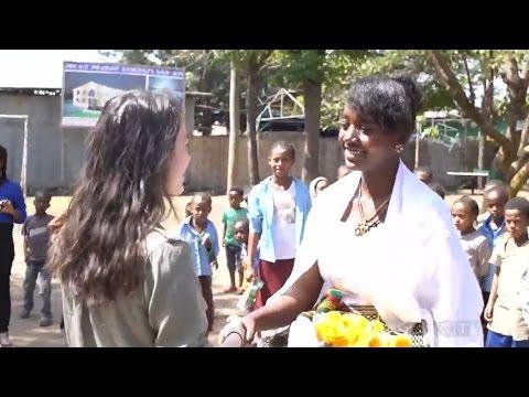 Edmonton Girl Travels To Ethiopia To Meet Longtime Pen Pal
