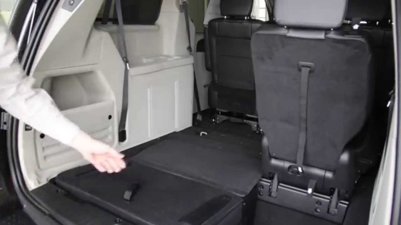 Stow N Go Seat And Storage System Chrysler Dodge