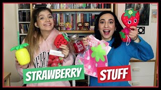 Αγοράσαμε ό,τι βρήκαμε με φράουλα || fraoules22