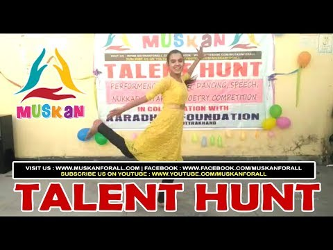 "Dance Performance on ""Meri Wali Ding Dong Krti Hai "" on occasion of Talent Hunt organized by MUSKAN"