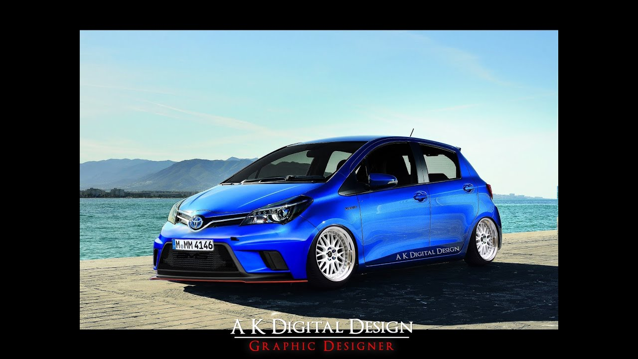Modified 2015 Toyota Yaris Virtual Tuning Youtube