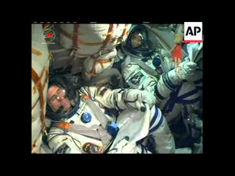 4:3 Russian Soyuz craft launches on mission to space station