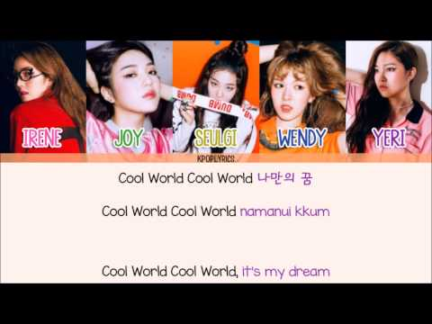 Red Velvet - Cool World [Eng/Rom/Han] Picture + Color Coded HD