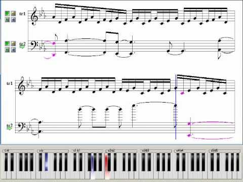 partition piano vampire knight