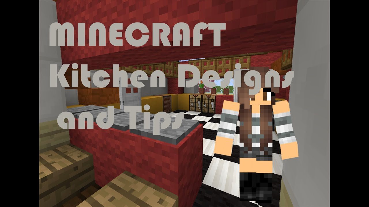 Minecraft | Fancy Kitchen Designs U0026 Tips! (NO MODS, 1.9!) Part 55