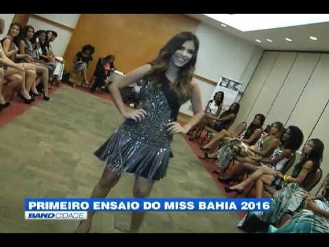 """Band Cidade - """"Primeiro ensaio do Miss Bahia 2016"""""""
