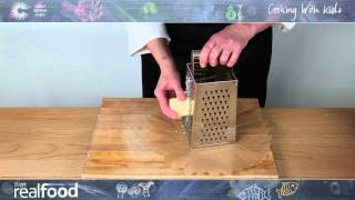 How to Grate Chęese - Cooking with Kids