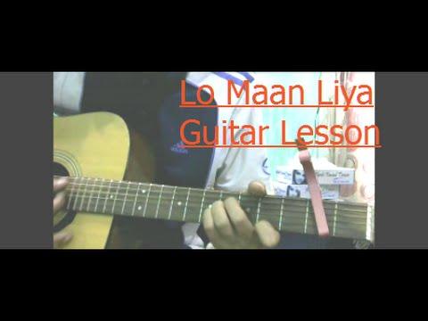 Lo Maan Liya Guitar Lesson Full Chords Raaz Reboot Emraan