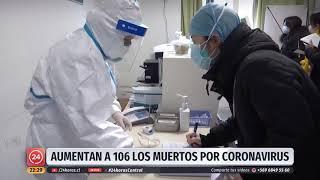 China: Aumenta a 106 la cifra de fallecidos por coronavirus