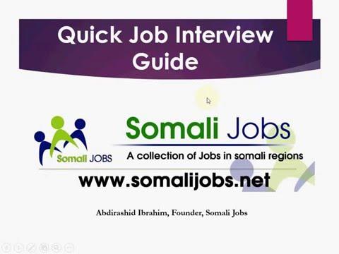 U Diyaar Garowga Waraysi Shaqo - Quick Job Interview Guide