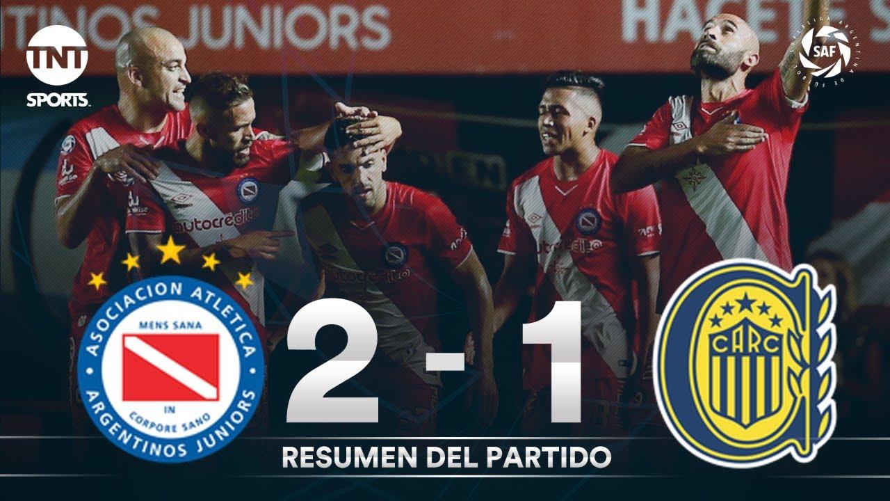 Resumen de Argentinos Juniors vs Rosario Central (2-1) | Fecha 23 - Superliga Argentina 2019/2020