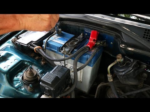 Honda Civic - Battery Replacement