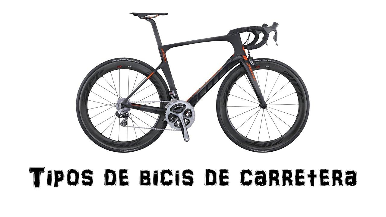Tipos de bicis de carretera | Ciclismo - YouTube