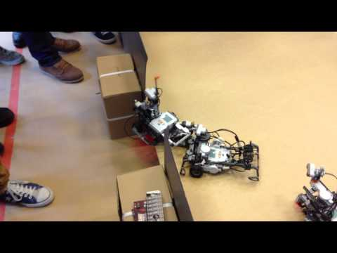 Battle of the Cleaning Robots (IP SaSeRos 2013 in Finland)