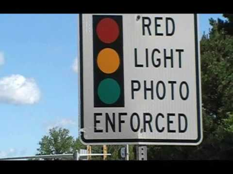 Visiting the red light camera in Rosemont illinois