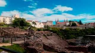 видео Франция. Лион - достопримечательности старого города.