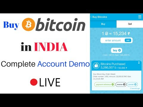 Hindi How To Buy Bitcoin In India Bitcoin Trading In India -