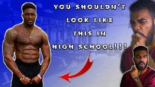 This Is What NFL COMBINE KING DK Metcalf Looked Like In High School  Sharpe Sports