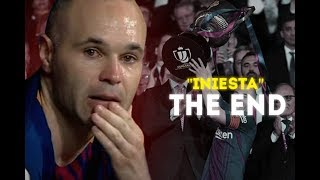Andres Iniesta ● The Maestro [FC BARCELONA - THE END]