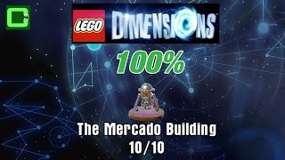 The Mercado Building   All Minikits / Rescue   Ghostbusters 2016 Story Pack   Lego Dimensions