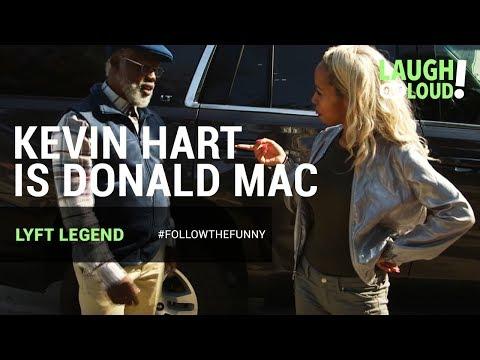 Kevin Hart Is Donald Mac | Lyft Legend Ep 2  | LOL Network