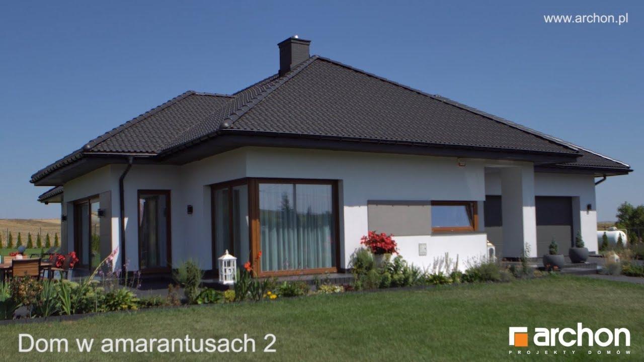 Przestronny I Nowoczesny Dom Parterowy Projekt Dom W Amarantusach