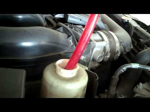 2007 nissan frontier power steering fluid change how to save money and do it yourself. Black Bedroom Furniture Sets. Home Design Ideas