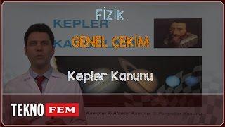 YGS-LYS FİZİK - Kepler Kanunu