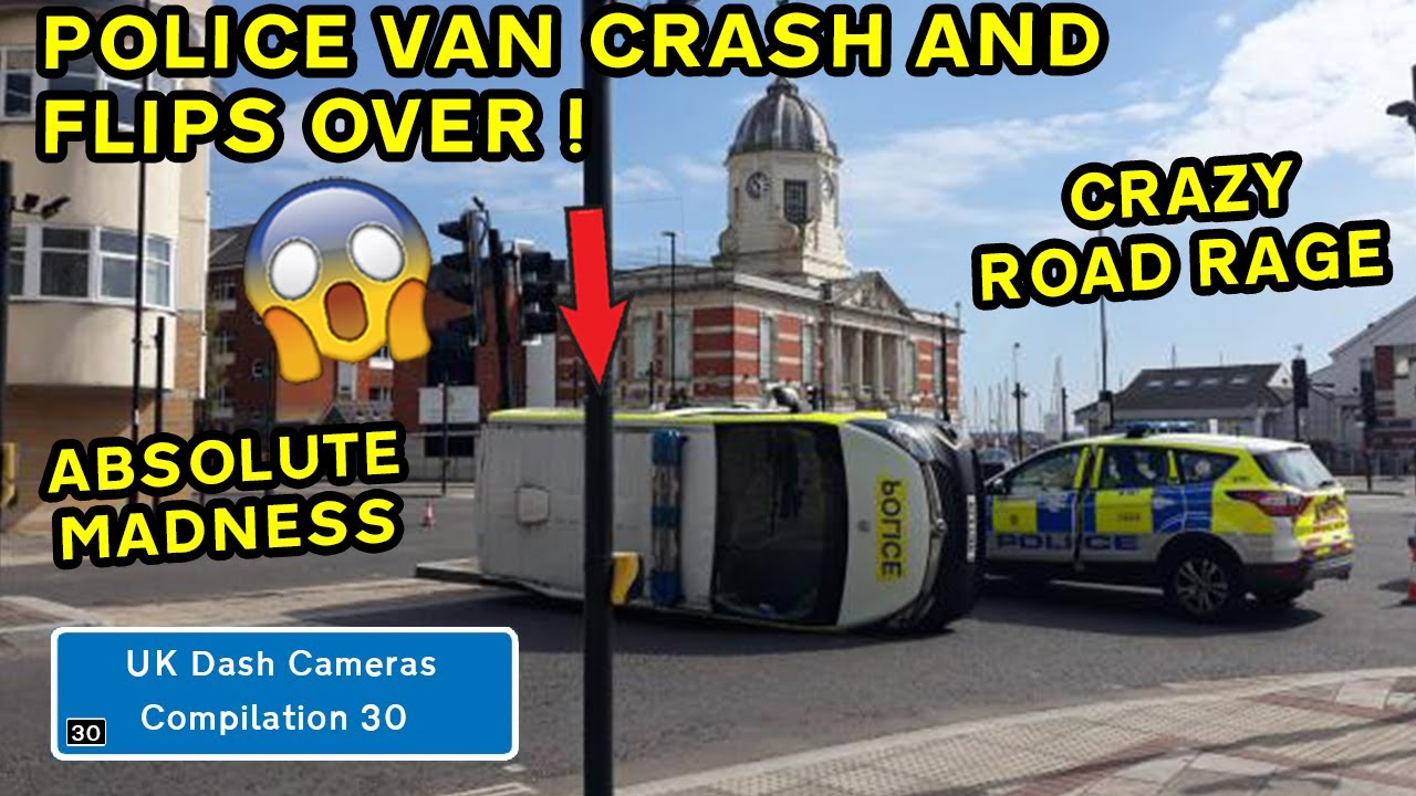 UK Dash Cameras - Compilation 30 - 2021 Bad Drivers, Crashes & Close Calls