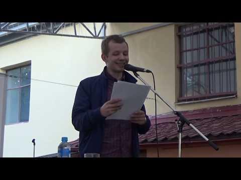 Дима Гусев на летней террасе клуба MOD
