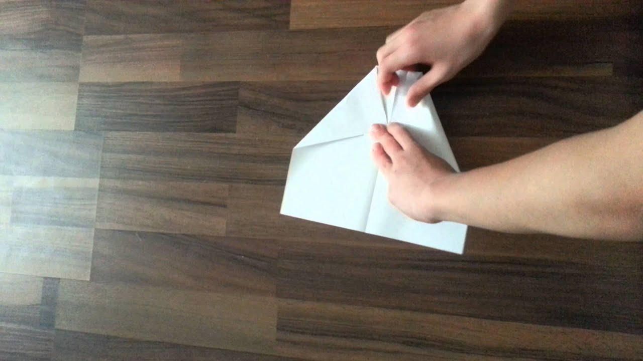 papierflieger selber bauen youtube