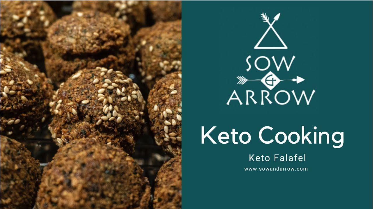 Keto Cooking: Falafel