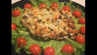 Куриное филе с грибами и сыром - Просто. Быстро. Вкусно.