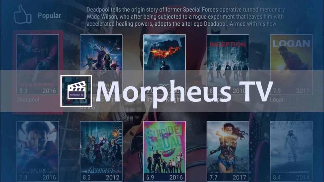 Morpheus TV APP Official - Installation and Full Tutorial - YouTube