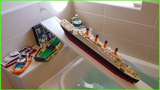 LEGO BOAT LAUNCH FAILS !!!